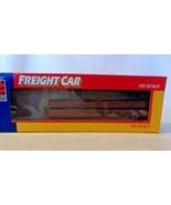 HO Scale Life-Like 47' Log Car, Louisville & Nashville, Red #24562 BNOS - $14.85