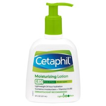 CETAPHIL Moisturizing Lotion, Body & Face 24 Hour Hydration 8 OZ  - $15.99