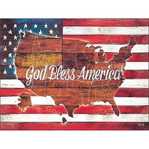 Dicksons God Bless America United States Stars And Stripes