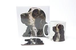 3 Teile Cocker Spaniel Hergestellt in Großbritannien Keramiktasse Gruß - $28.60