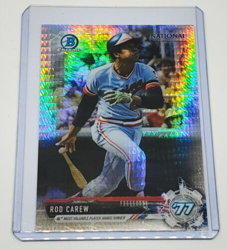 Primary image for MLB ROD CAREW TWINS HOF 2017 BOWMAN CHROME X-FRACTOR #BNRRCA MNT