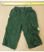 The Childrens Place Boys Pants 18 Mos Dark Green - $9.77