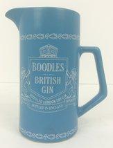 Boodles British Gin China Wedegwood Blue Pitcher - $125.00