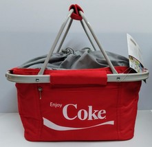 Coca-Cola Metro Picnic Basket  - BRAND NEW - $49.25