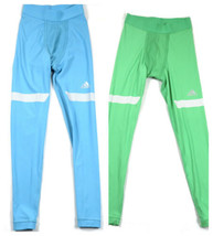 adidas Men's Tights TechFit CHILL Compression Long Running NEW