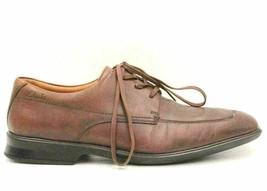 Clarks Flexlight Men Split-Toe Oxfords Size US 8.5M Brown Leather - $30.58