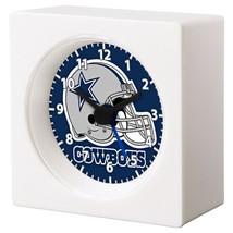 Dallas Cowboys Nfl Football Team Logo Alarm Clock Man Cave Bedroom Garage Decor - $16.19
