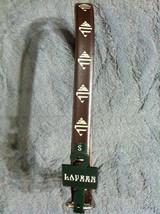 Ralph Lauren Mujer Nuevo Marrón Hechas a Mano Material Cinturón Talla Pe... - $32.61