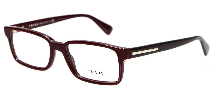 Prada Eyeglasses 15Q Bordeaux ROO-1O1 Men\'s and similar items