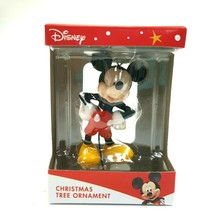 Disney Mickey Mouse Holiday Christmas Tree Ornament 2.5 Inch Tall Brand New - $11.29