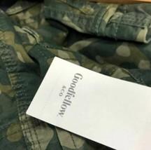 Goodfellow & Co. Men's Cargo Shorts 11.0 Green Camo Size 42 image 2