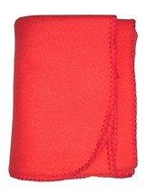 bambini Baby's Red 100% Polyester Polar Fleece Blanket - $7.99