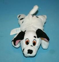"Disney 101 Dalmatians DOG 8"" Plush Lying Stuffed Bean Bag Animal Applaus... - $15.42"