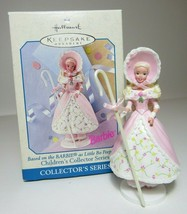 1999 Barbie Little Bo Peep Childrens Collectors Series Hallmark Ornament #2 - $8.59