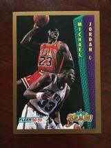 1992-93 Fleer - Michael Jordan - Slam Dunk #273 - $1.49