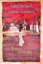 1999 THREE SEASONS Movie POSTER 27x40 Motion Picture Promo - $15.99
