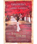 1999 THREE SEASONS Movie POSTER 27x40 Motion Picture Promo - $29.99