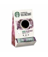 STARBUCKS VIA INSTANT DECAF ITALIAN ROAST DARK ROAST COFFEE 50CT - $44.50