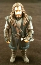 The Hobbit An Unexpected Journey Thorin Oakenshield Posable Figure LOTR ... - $9.89