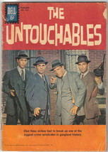 The Untouchables TV Series Four Color Comic Book #1237 Dell Comics VERY GOOD- - $30.88