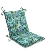 """CC Outdoor Living 36.5"""" Paisley Blue Green White Outdoor Patio Chair Cus... - $77.95"""