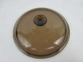 """Pyrex Amber Replacement Lid 10 3/4 """" - $6.00"""