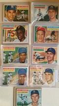 1956 WB HOF Topps baseball cards lot(9) - $741.16