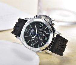 Panerai- Luxury Brand quartz women Watches Quartz Watch Stainless Steel ... - $59.36