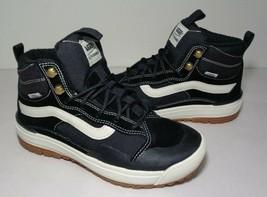 Vans Size 8 M ULTRARANGE EXO HI MTE Black Leather Sneakers New Women's S... - $147.51