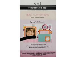 "S.E.I. Scrapbook in a Bag, Ally's Wonderland, 4"" x 6"" Memory Book Kit"