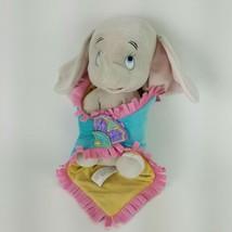 "Disney Parks Babies Dumbo Baby Elephant Plush w/ Blanket Stuffed Animal 10"" - $15.88"