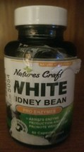 Natures Craft WHITE KIDNEY BEAN Pure Weight Loss Carb Blocker Fat Burner... - $12.49
