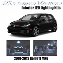 XtremeVision Volkswagen Golf GTI MK6 2010-2013 8 Pieces Cool White Premi... - $11.42