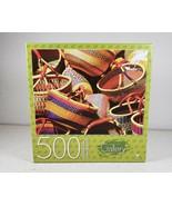 "Cardinal Gallery 500 Piece Jigsaw Puzzle ""Baskets"" 18 x 24 NEW Sealed - $23.60"