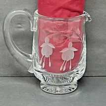 "Stuart Crystal CASCADE Fuchsia Milk Cream Jug 4"" Waterford Wedgwood Lead... - $49.99"