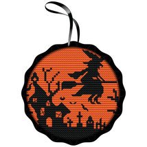 Spooky Witch Kit halloween cross stitch kit Colonial Needle  - $16.20
