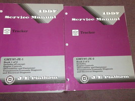 1997 Chevrolet CHEVY GEO TRACKER Shop Repair Workshop Service Manual Set... - $44.50