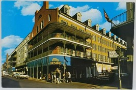 Bourbon Street Royal Sonesta Postcard 1970's Louisiana New Orleans Vintage - $4.49