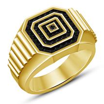1.50 CT Men's 14k Yellow Gold Plated Diamond Engagement Wedding Band Pin... - $106.99