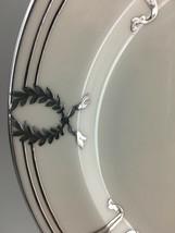 Lenox Belleek L103 Salad plate / Silver overlay  image 2