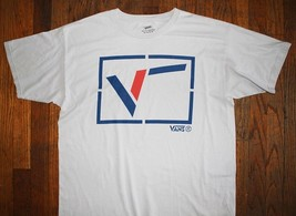 VANS / OFF THE WALL / CALIFORNIA USA AMERICA / SK8 SKATE / WHITE T- SHIR... - $19.99