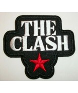 """The Clash UK Punk Rock Embroidered Applique Patch~3 1/8"""" x 2 7/8""""~Iron o... - $3.95"""