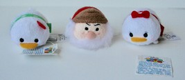 Set of 3 DISNEY TSUM TSUM 1 Elf, 2 Holiday - $9.89