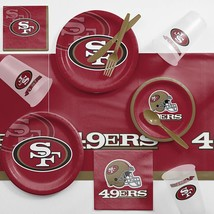 San Francisco 49ers Game Day Party Supplies Kit - €21,00 EUR
