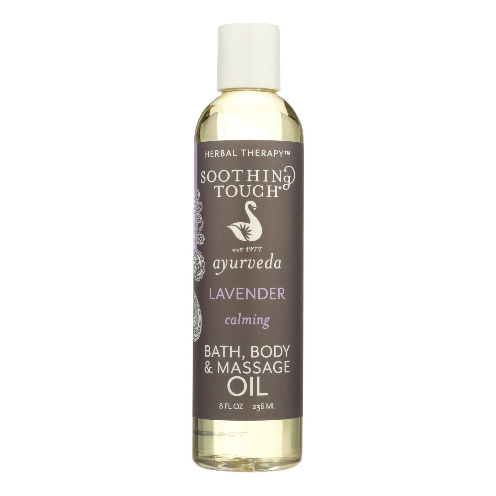 Primary image for Soothing Touch Bath and Body Oil - Lavender - 8 oz