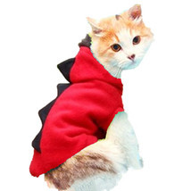 Warm Cat Clothes Pet Dog Costume Suit Halloween Dragon Clothing For Cat ... - ₹766.07 INR