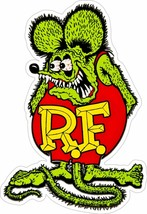 "Rat Fink 20"" x 30"" Plasma Cut, Big Daddy Ed Roth Metal Sign - $98.00"