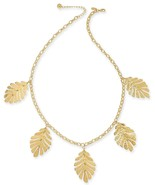 NWT- KATE SPADE NEW YORK A NEW LEAF STATEMENT NECKLACE - $84.65