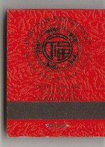 Vtg Strike on Matchbook  King Tsin Restaurant Chinese Mandarin Cuisine L... - $11.87