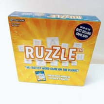 Ruzzle Game Pressman Boxed  Based on Word App 2 to 4 players New Sealed  - $29.99